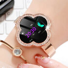 Women Lady Smart Watch Heart Rate Blood Pressure Fitness Tracker For iOS Android