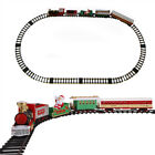 X'mas Santa Claus  Electric Train Railway Set Track Model Carriages Sound