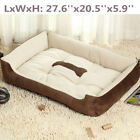 Pet Bed Dog Cat Cushion Nest Puppy Soft Warm House Kennel Mat for Autum Winter