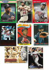 KIRBY PUCKETT 8 CARD LOT WITH STARTING LINEUP CARD NM