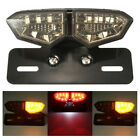 Motorcycle Accessories Universal LED Brake Turn Signal Tail License Plate Lights