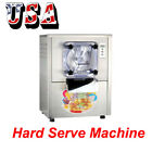 CE Commercial Ice Cream and Gelato Maker MachineSliver Stainless Steel Material