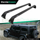 Pair Cross Bar fit for JEEP Wrangler JL 2018 2019 Roof Rack Rail Luggage Baggage