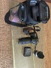 Canon EOS 20d camera with two lenses a better charger battery and Canon bag