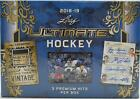 2018 19 LEAF ULTIMATE HOCKEY HOBBY BOX