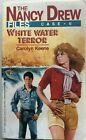 The Nancy Drew Files Case 6 White Water Terror 1986 Paperback First Edition