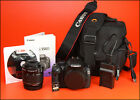 Canon EOS 550D DSLR Camera + 18-55mm Zoom Lens Kit + Battery,Charger, 2,020 Shot