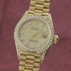 Rolex Lady Datejust 18k Gold Automatik Damenuhr 69158 Diamanten VP 24650 €