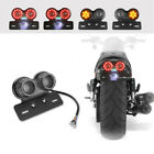 Led License Plate Lights for Motorcycle Turn Signal Light Brake 12V Light Moto