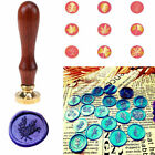Plant Flower Pattern Sealing Wax Stamp Wedding Party Invitation Decoration Gift