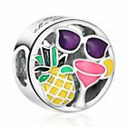 NEW Pandora Disney Charms bead Sterling Silver mickey Mouse Signature Bead