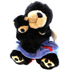 Boyds Bears Plush MA WITH JUNIOR Fabric Bear Country Exclusive 918087SM