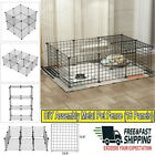 Pet Dog Pen 12 16 Panel Puppy Playpen Run Crate Cage Foldable Enclosure Fence US