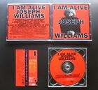 JOSEPH WILLIAMS I Am Alive 1996 JAPAN CD w/OBI OOP AOR TOTO Jay Graydon AIRPLAY