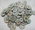 Collect 100pc Chinese Bronze Coin China Old Dynasty Antique Currency Cash
