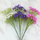 Home 8 Bunch Small Flowers Artificial Flower Mini Flocking Fabric Lucky Flower
