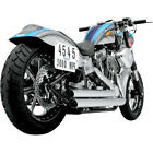 Python Staggered Duals Full Exhaust System Harley Davidson 146569