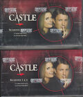 CASTLE SEASONS 3 and 4 - 2 (TWO) Factory Sealed Trading Card Boxes