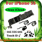 For Phone 5S Original Motherboard GSM Unlocked Mainboard Logic Mother Board IOS