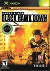 Xbox Live Game - Delta Force: Black Hawk Down - Complete With Manual
