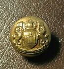 Vintage brass button PORT OF LONDON AUTHORITY -  J.COMPTON SONS
