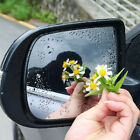 2x Car Rearview Mirror Waterproof Anti fog Anti glare Film PET Sticker Accessory