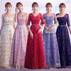New Evening Formal Party Ball Gown Prom Bridesmaid Host Show Skirt Dress MSF017