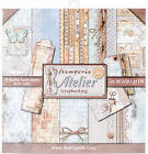 Stamperia Double Sided Paper Pad 12X12 10 Pkg Atelier 10 Designs 1 Each