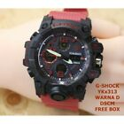 New G Shock YKx313 Rope Red Cool Cheap Men's Style Free Shipping