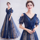 Noble Evening Formal Party Ball Gown Prom Bridesmaid Sequin Bead Dress TSJY3862