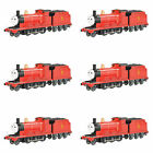Bachmann Trains 58743-BT James the Red Engine w/ Moving Eyes, HO Scale (6 Pack)