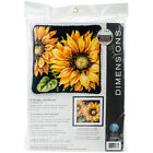 Dimensions Needlepoint Kit 14X14 Dramatic Sunflower Stitched In Wool 71 20083