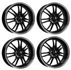 4 Dotz Shift wheels 70Jx17 4x100 for SUBARU Justy Justy G3X