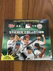 2019 Topps MLB Sticker Collection Baseball New 50-PACK STICKER BOX=200 Stickers!