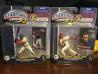 STARTING LINEUP 2 ALEX AND IVAN RODRIGUEZ 2001 TEXAS RANGERS NEW