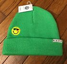 NWT NEFF SLIME GREEN BEANIE KNIT HAT O/S  STYLE#  ROY PURDY COLLAB