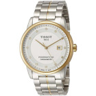 New Tissot Luxury Automatic Diamond Stainless Steel Mens Watch T0864082203600