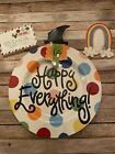 Coton Colors Happy Everything Large Platter Plate With 3 Attachmemts New