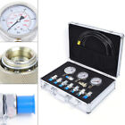 Hydraulic Pressure Gauge Test Kit 9000PSI Tester No Distortion Construction NEW