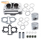 For Honda Rebel 250 CMX250 Engine Cylinder Assembly Replacement  Piston Gasket