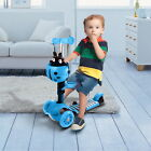 3 in 1 3 Wheels Kick Scooter Skate Ride Kids Child Toddler Girl Toy Play Outdoor