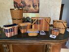 Longaberger Collectible Baskets- Lot of 7