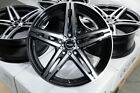 18 Black Wheels Fits Volkswagen Golf Beetle Gti Jetta Scion FRS Tc Xd Civic Rims