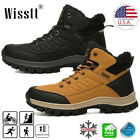 Men Snow Boots Hiking Shoes Casual Waterproof Ankle Shoes Winter Warm Walking 12