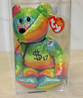 Ty Authenticated Billionaire Bear 17 Signed MWMT MQ TY Beanie Baby - AP 11513