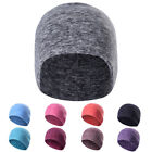 Cationic Fabric Polar Fleece Caps Solid Color Winter Warm Knit Skull Beanie Hats