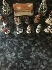 Lemax Collection Village People Figurines Set of 15 Christmas Tabletop.
