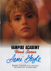 2014 Leaf Vampire Academy: Blood Sisters Trading Cards 23