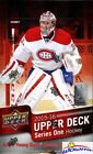 2015 16 UD Series 1 Hockey Factory Sealed 24 Pack HOBBY Box-Jersey+6 Young Guns