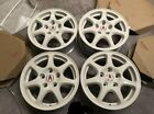 Brand New Acura Integra Type R Wheels Championship White Rims OEM Honda